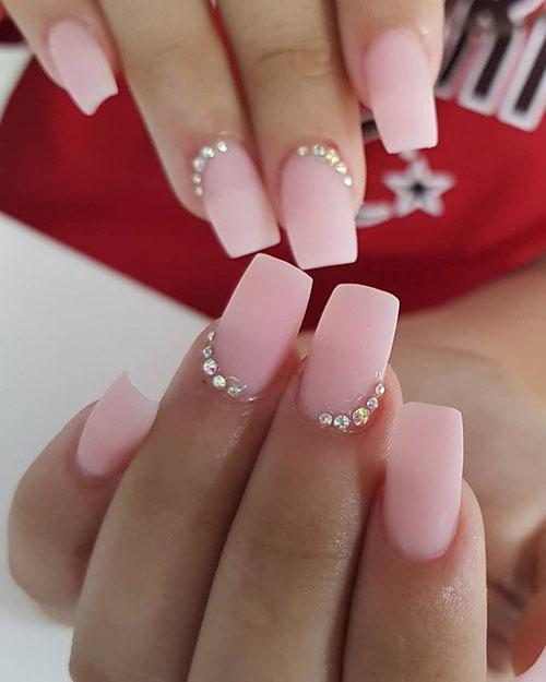 Acrylic Nails Short Square