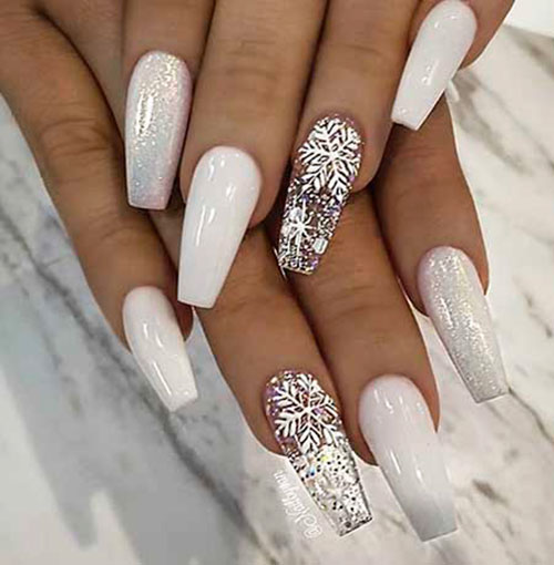 Acrylic Nails For Winter