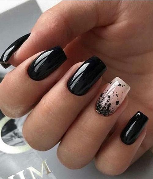 Acrylic Nails Square Short