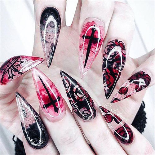 Images Of Halloween Nails