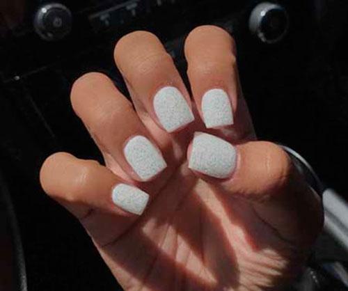 Acrylic Short Square Nails