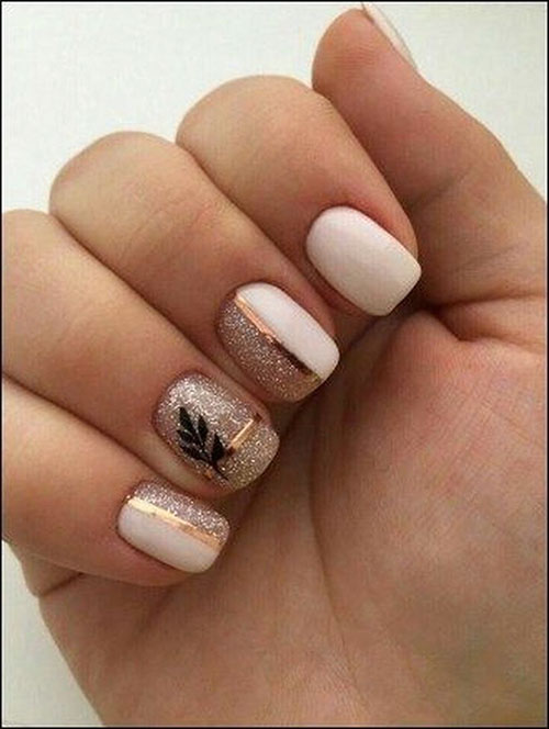 Cute Thanksgiving Nail Designs