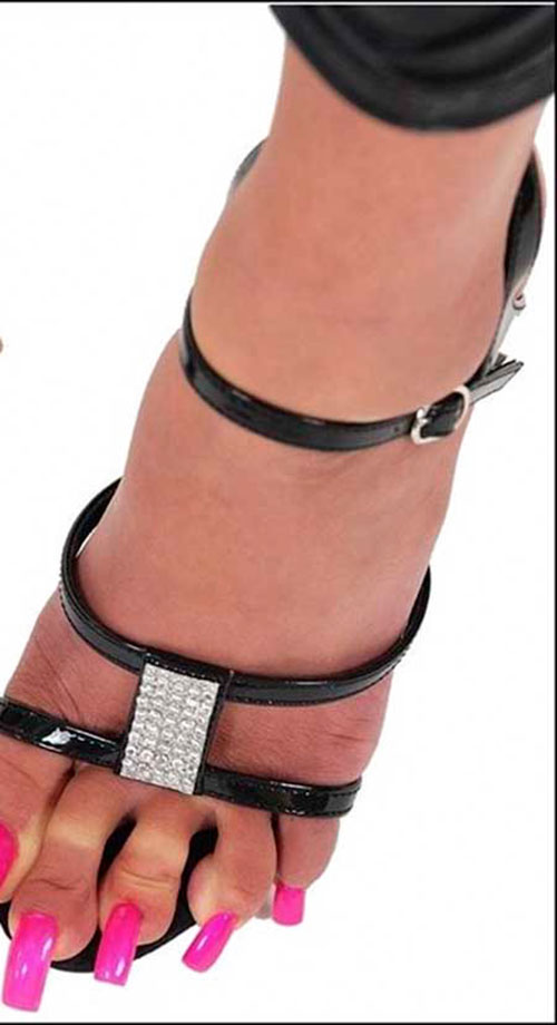 Nasty Long Toenails