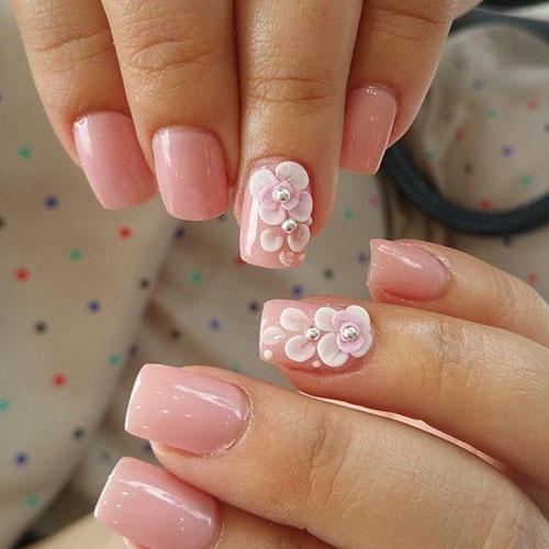 Japanese Flower Nail Art