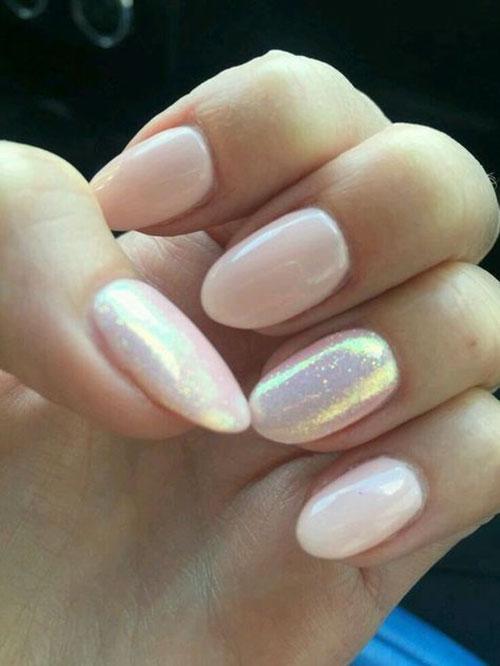 Nails Almond Short