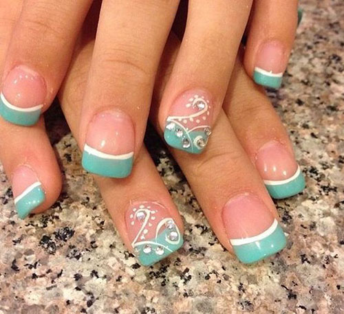 French Nail Designs Pictures