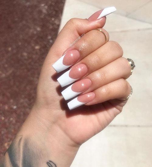 Elegant French Tip Nail Designs