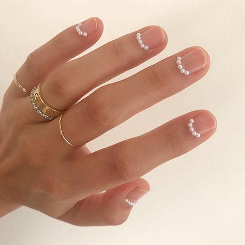 Pearl Finish Nails