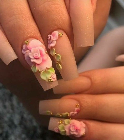3D Butterfly Nails